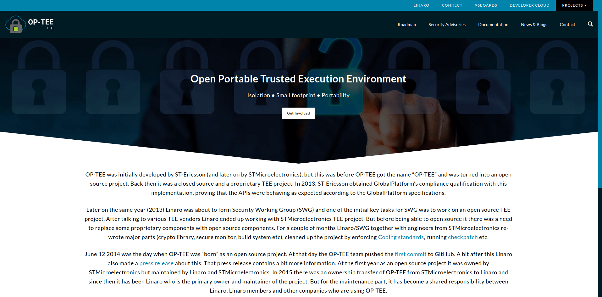 Open Portable Trusted Execution Environment - OP-TEE